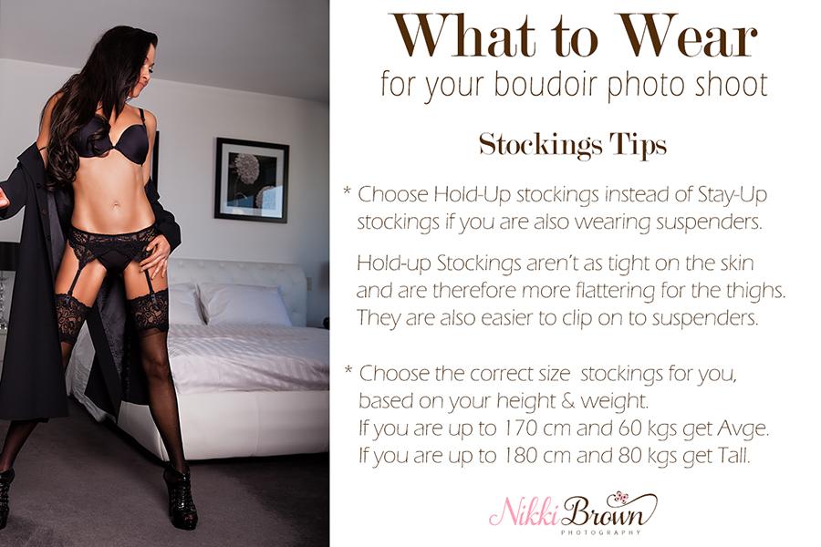 outfit ideas for boudoir shoot