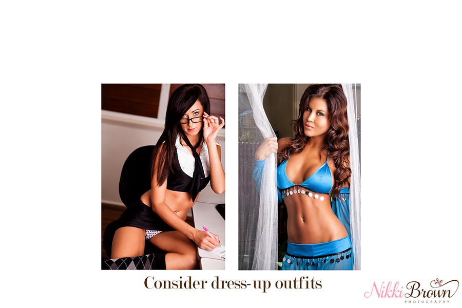 boudoir photo shoot outfit ideas